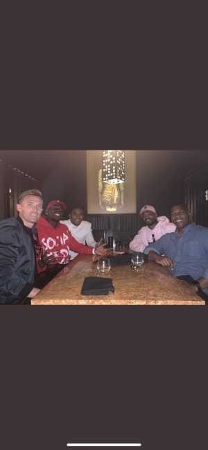 Pogba recruiting some free agents.